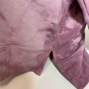 PINK Victoria's Secret Tops - PINK VS TIE DYE LOGO TURTLE NECK TUNIC
